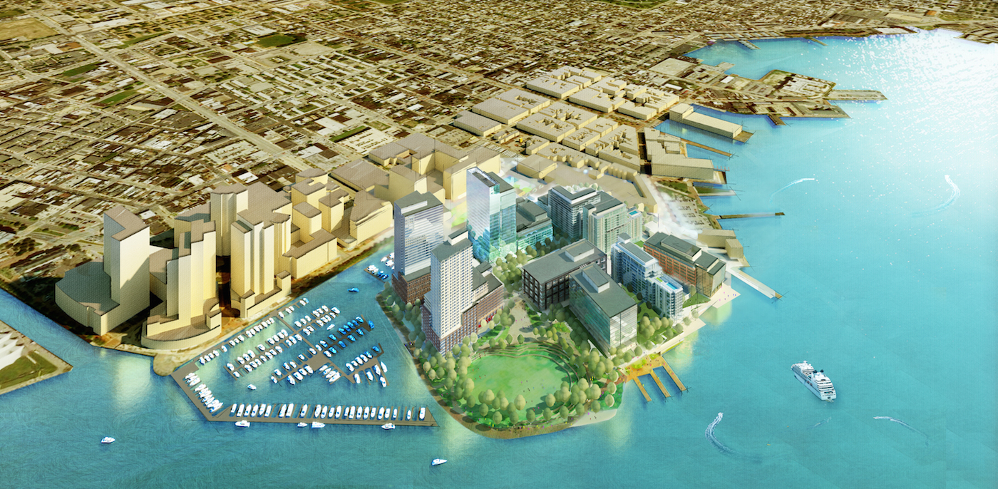 Harbor Point Concept Rendering